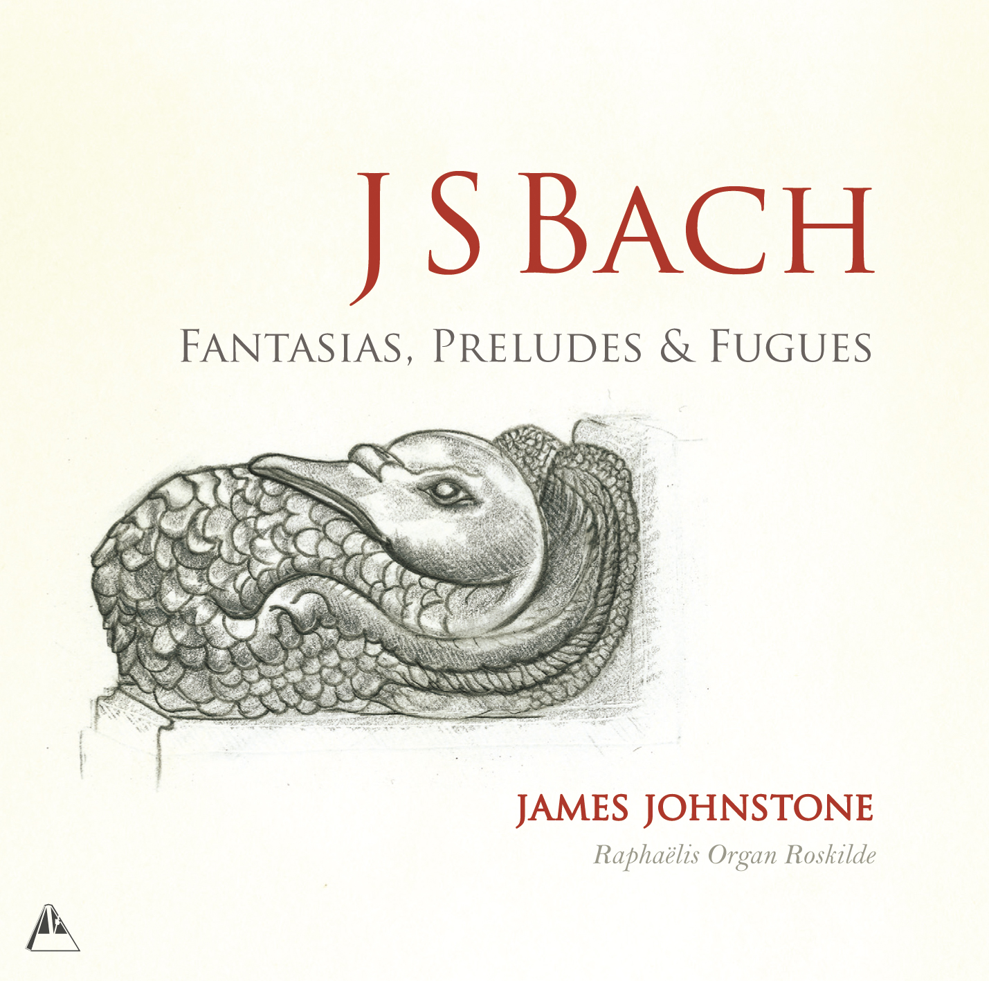 METCD 1095 James Johnstone-Bach Roskilde Front Cover